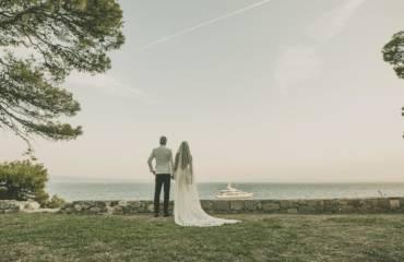 The most beautiful sea wedding